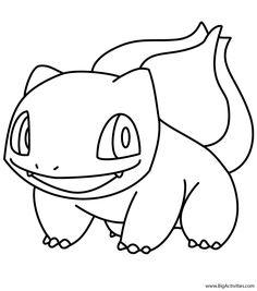 Dragon Coloring Page, Cat Coloring Page, Colouring Pages, Printable Coloring Pages, Coloring Pages For Kids, Coloring Books, Pokemon Bulbasaur, Pikachu Art, 3d Pen Stencils