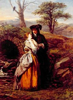The Bride of Lammermoor (from Sir Walter Scott's novel)  William Powell Frith (1819–19
