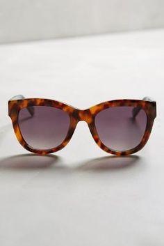 ett:twa ett: twa Munin Sunglasses Brown Motif One Size Eyewear