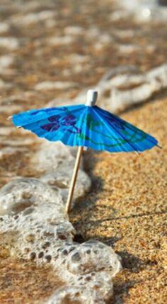 beach umbrella in the sand I Love The Beach, Summer Of Love, Summer Time, Beach Bum, Ocean Beach, Summer Beach, Beach Please, Sand And Water, Am Meer