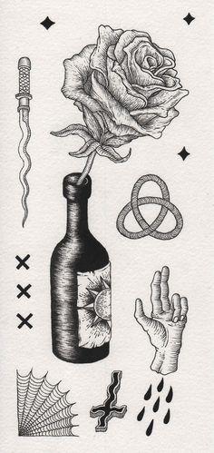 Eugene Plotnikov in Pen and Ink