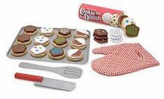 Slice and Bake Cookie Play Food Set