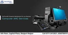 We can take up Annual Maintenance contract service for all your computers, Laptops Networks and other IT infrastructure.  www.Awizomtech.com Phone no. 0771-2412821, 2412921, 6268708414 Email: info@awizomtech.com Address: 5th Floor Capital Plaza, Near Fruit Market, Deopuri, Raipur (C.G.)- 492015  #AMC #AMCraipur #AMCservice #computermaintenance #laptopmaintenance #corporate #corporatetraining #corporatetrainingraipur #training #BPOraipur #BPOservice #BPOchhattisgarh #appdevelopement… Computer Maintenance, Domain Knowledge, Software Development, Laptops, Computers, Training, Floor, Fruit, Phone