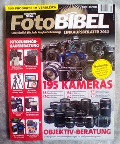 """FOTO BIBEL! """" Digital PHOTO """" ~ SPEZIAL! EINKAUFBERATER  2011 !NEU!"""