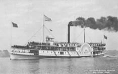 Steam Boats were very popular in the 1800's  Why: This was the fastest way to travel back then, not including the trains
