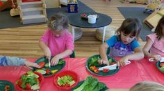 Practicing our fine motor skills with child-safe knives