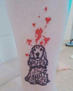 Resultado de imagen de tatuaje cocker