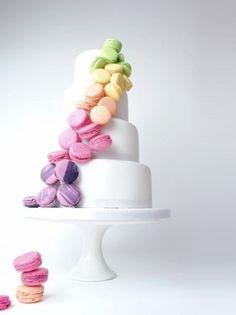 macaron wedding cake - best wedding cakes 2013 - weddingsonline.ie #weddingcakes