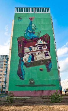 + Arte :     O fantástico street art de Przemek Blejzyk (ou Sainer).