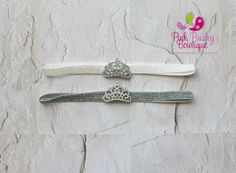Baby headband, newborn headband, baby girl headband, Baby Tiara headband, Tiara headband, Hairbow headband, Princess Headband Princess Crown