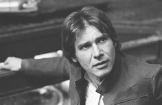 Harrison Ford on the set of Star Wars Star Wars Timeline, Han Solo And Chewbacca, Han And Leia, Harrison Ford, Mark Hamill, The Empire Strikes Back, Carrie Fisher, Love Stars, Princess Leia