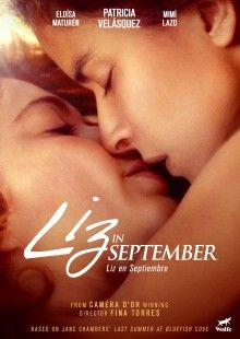 Based on the classic lesbian play, Last Summer at Bluefish Cove, the gorgeous drama, Liz in September stars Latina lesbian supermodel Patricia Velasquez and is brought to the screen by esteemed Venezuelan director Fina Torres (Woman on Top).