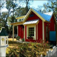The Little Red Bungalow: Beautiful Tiny Cottage | Tiny House Pins