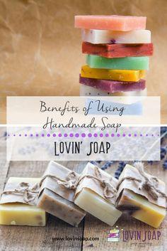 benefits of using handmade soap