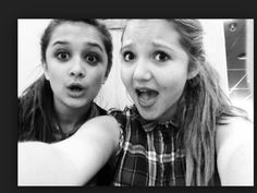 Amy Leigh Hickman also known as Carmen Howle is hanging out with her best friend Mia McKenna Bruce otherwise known as tee taylor life is full of fun