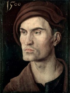 Albrecht Durer Portrait of a Young Man 1590 Renaissance Kunst, Renaissance Paintings, High Renaissance, Albrecht Durer, Famous Artists, Great Artists, Albertina Wien, L'art Du Portrait, Italian Artist