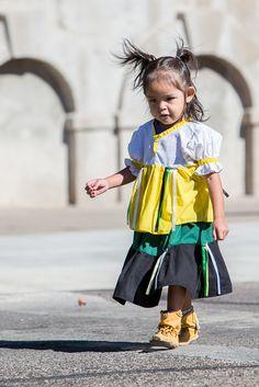 Apache Jii 2013. Little Apache girl