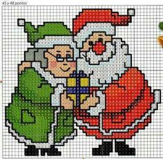 Thrilling Designing Your Own Cross Stitch Embroidery Patterns Ideas. Exhilarating Designing Your Own Cross Stitch Embroidery Patterns Ideas. Cross Stitch Christmas Cards, Santa Cross Stitch, Cross Stitch Cards, Christmas Cross, Cross Stitching, Cross Stitch Embroidery, Hand Embroidery, Cross Stitch Designs, Cross Stitch Patterns