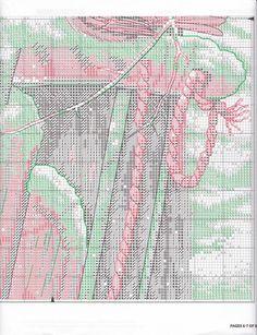 Cardinals on Sled Cross Stitch Bird, Butterfly Cross Stitch, Cross Stitch Animals, Cross Stitch Charts, Cross Stitching, Cross Stitch Patterns, Winter Christmas Scenes, Christmas Cross, Bead Loom Bracelets