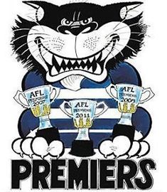 Mum was a fanatical Geelong supporter. Australian Football League, Star Fox, Cat Character, Cattery, Great Team, Football Team, Cartoon Characters, Cute Cats, Cool Pictures