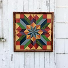 Pallet Wood Mosaic Barn Quilt Handmade Primitive Rustic