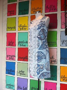 Lilly Pulzer wall by ishandchi, via Flickr