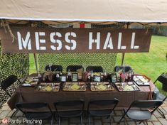 Mash Bash, Mash tv show, Mash television show, Mash theme party, army party, military party ideas, M*A*S*H