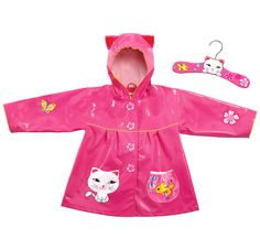 Cat Themed Rain Coat! Visit www.shopconnies.com