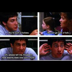 Donnie Darko (Sorry for the language but this movie is perfect!)