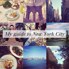nicolette mason: {WANDERLUST} My Guide to New York City