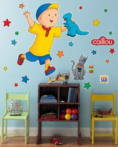 Caillou Giant Wall Decals * You can find out more details at the link of the image. (This is an affiliate link and I receive a commission for the sales)