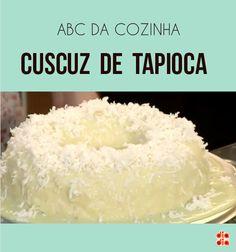 A cozinheira Gabriela Pegurier apresentou mais um ABC da Cozinha para ensinar todo mundo a fazer um cuscuz de tapioca perfeito. Veja que legal!