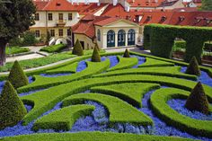 formal garden | Formal garden Prague Czech Republic