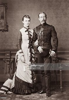 Arthur William, Duke of Connaught - third son of Queen Victoria with the Duchess of Connaught, formerly Princess Louise Margaret of Prussia. (Photo by Spencer Arnold/Getty Images) Queen Victoria Children, Queen Victoria Family, Queen Victoria Prince Albert, Victoria And Albert, Victoria's Children, Prince Arthur, Reine Victoria, Princess Louise, Grand Duchess Olga