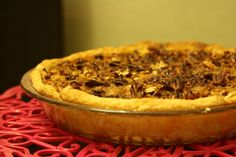 Pumpkin Praline Pie - for just about any holiday dinner