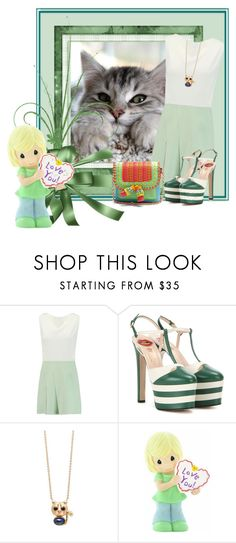"""""""I love u"""" by dns328 ❤ liked on Polyvore featuring Roland Mouret, Gucci, S/H KOH, Precious Moments and Sophia Webster"""