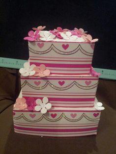 My paper wedding cake 1 of 5