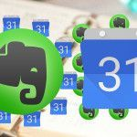 Get the most out of both your Evernote account and your Google calendar with…