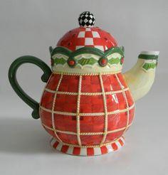 Mary Engelbreit Teapot 2004