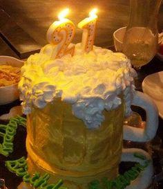 Astounding 10 Best 21St Birthday Cake For Guys Images 21St Birthday Cake Personalised Birthday Cards Epsylily Jamesorg