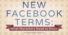Did you know new changes are coming to Facebook as of January 1, 2015?