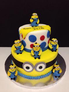 #minionscake #milascakess www.milascakess.com
