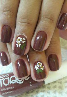 Nails floral 30 Spring Floral Nail Designs To Make You Shine - Page 28 of 30 Spring Floral Nail Designs To Make You Shine; Cute Nails, Pretty Nails, My Nails, Nail Designs Spring, Nail Art Designs, Beautiful Nail Designs, Nail Decorations, Flower Nails, Gold Nails