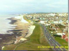 Third flight of my experimental kite camera2 by Elsie esq., via Flickr