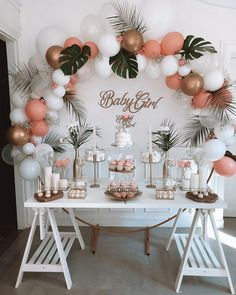 Dream of a perfect event, we are here for the r . Deco Baby Shower, Shower Party, Baby Shower Parties, Baby Shower Themes, Baby Shower Decorations, Wedding Decorations, 18th Birthday Party, Baby Birthday, Birthday Balloon Decorations