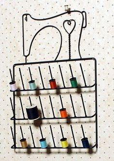 Sewing Machine Spool Thread Rack Holder Wrought Iron Black by Wire Decor, http://www.amazon.com/dp/B0071LK4PC/ref=cm_sw_r_pi_dp_Pw5yrb039M7YF