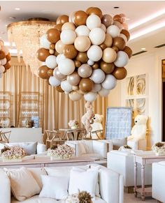 Baby shower ideas - non-gender baby shower decor Khloé ( Baby Shower Decorations For Boys, Boy Baby Shower Themes, Baby Shower Balloons, Baby Shower Gender Reveal, Baby Shower Games, Baby Shower Parties, Baby Boy Shower, Baby Shower Themes Neutral, Parties Decorations