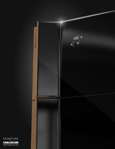"""""""Signature"""" by Challenger  Design Rodrigo Torres 2016 """"Signature"""" is a new line of sleek home appliances that celebrates its domestic nature by mixing wood, glass and metal. The products of this new line are characterized by its essential and elegant shapes.  www.rodrigotorres.com"""