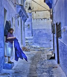 Chefchaouen, Morocco All though I loved this place, photography tends to put it much more romantic than it really is.