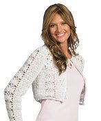 Crochet Short Jacket ~ intermediate level ~ FREE - CROCHET